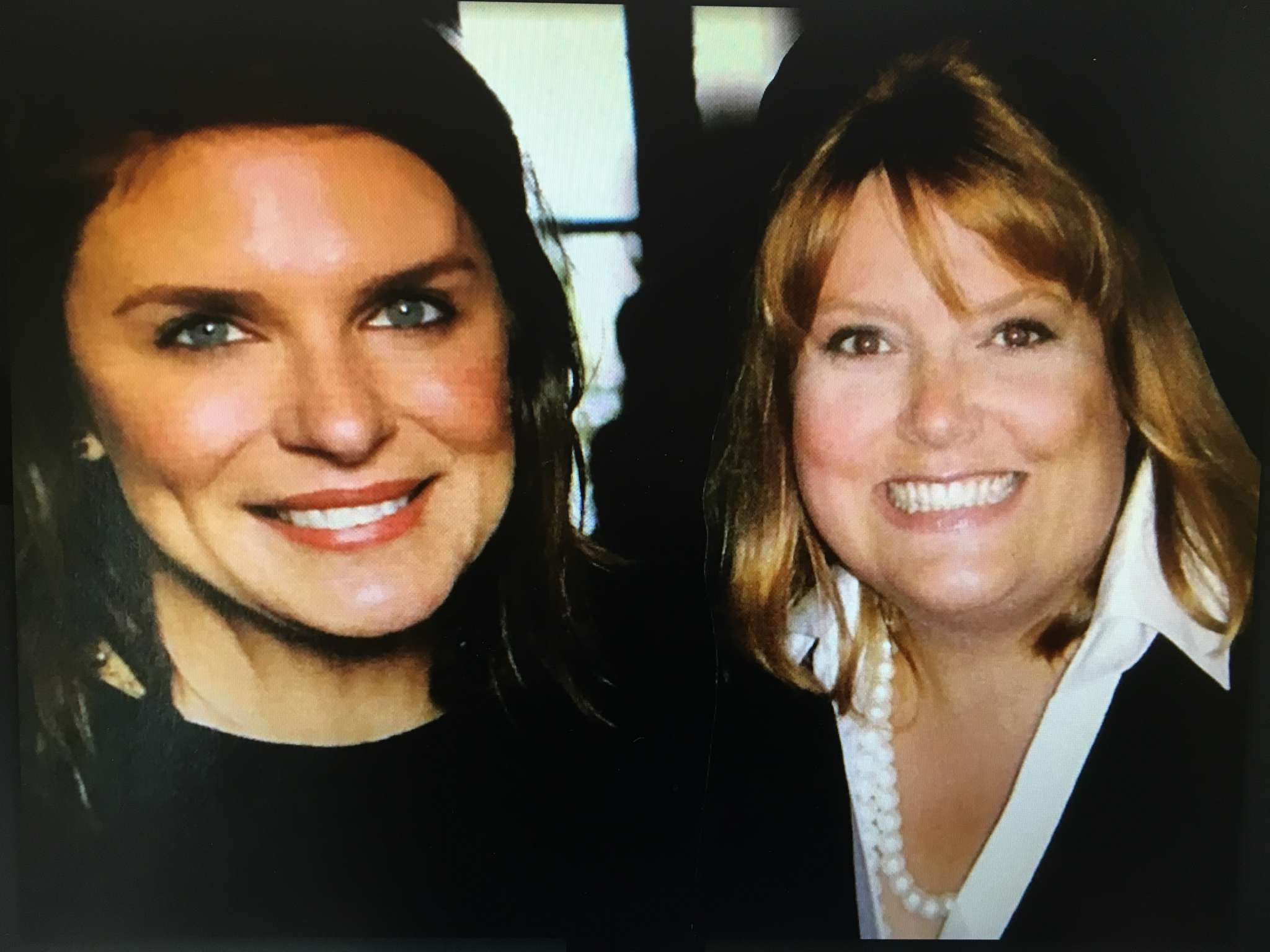 Vivian Howard and a woman posing for the camera