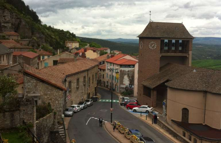 Roquefort-sur-Soulzon, France and The Famous Roquefort Cheese Caves