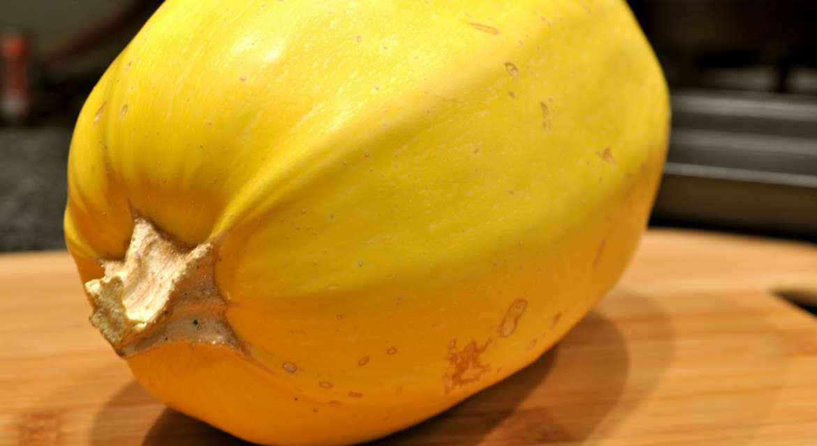 Oven Roasted Spaghetti Squash With Sherry And Cream