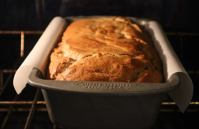 Old Fashioned MOIST Banana Bread