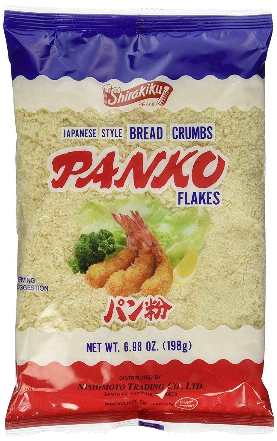 Panko breadcrumbs for use in Sausage Studded Beef & Turkey Meatloaf