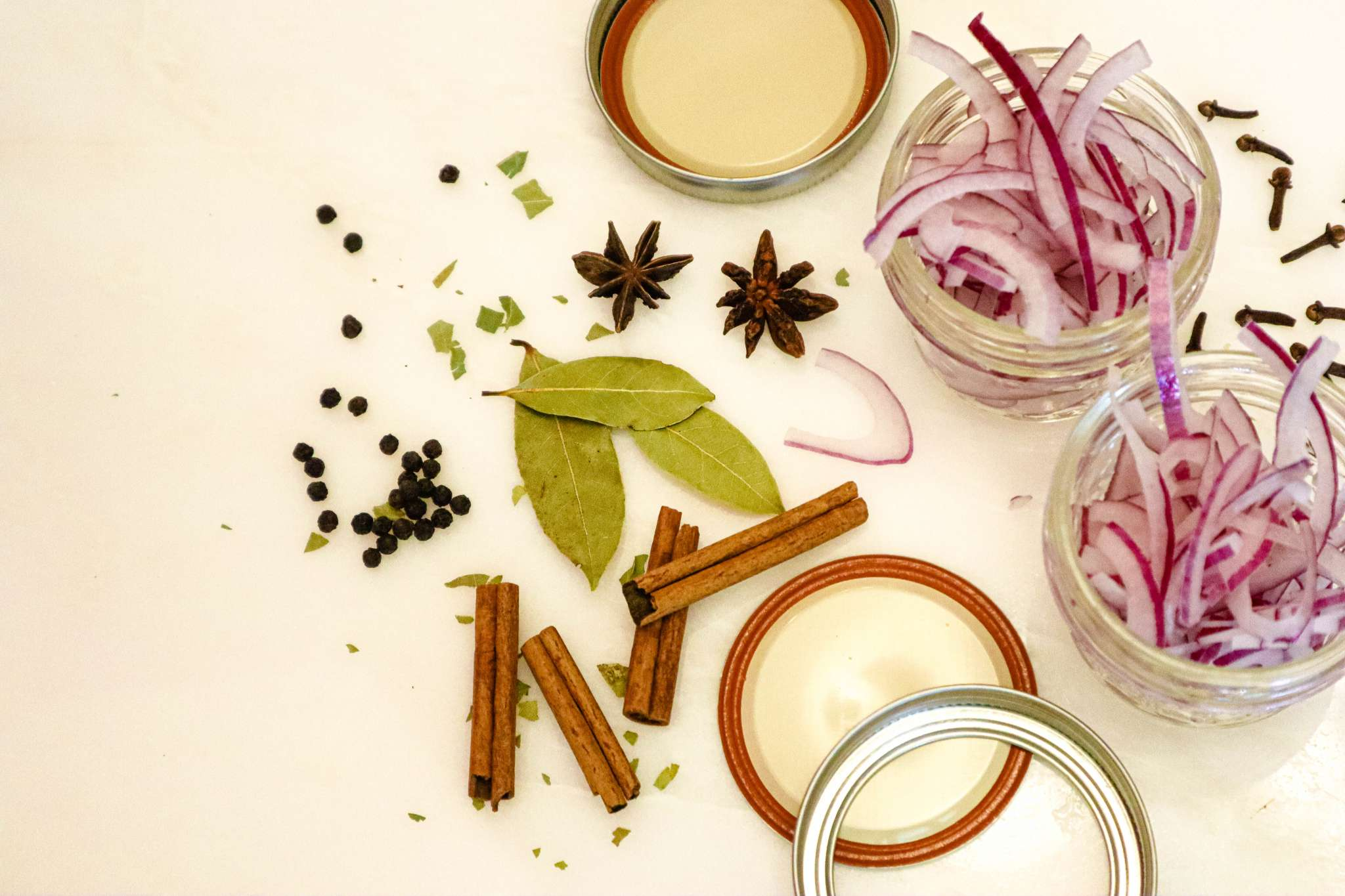 McCormick spices for Cinnamon and Spice pickled onions