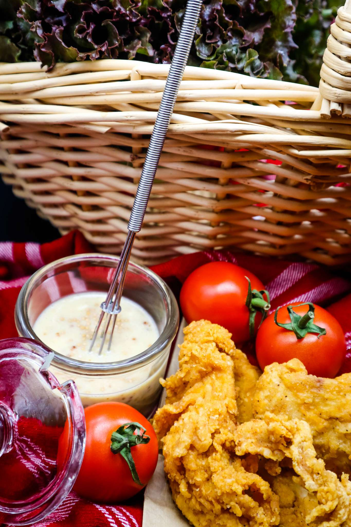 five ingredient honey mustamaise