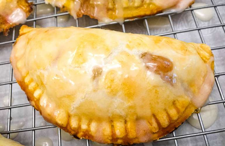 Peach and Apple Hand Pies