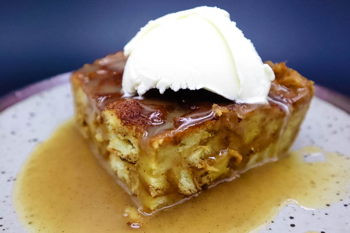 Pumpkin Pecan Bread Pudding is a great fall dessert.I've made many variations ofbread puddingover the years, but I stopped experimenting once I perfected this cinnamoncustard version to which I have addedpumpkin and pecans in time for Thanksgiving.It's an easy bread pudding recipe made with pumpkin puree, good bread, and a few other simple ingredients.The secret? Well trust me when I tell you that I baked my way through close to eleven different types of bread in this dessert just to be able to say that I narrowed it down to the loaf I personally recommend for use in this dish; Challah.
