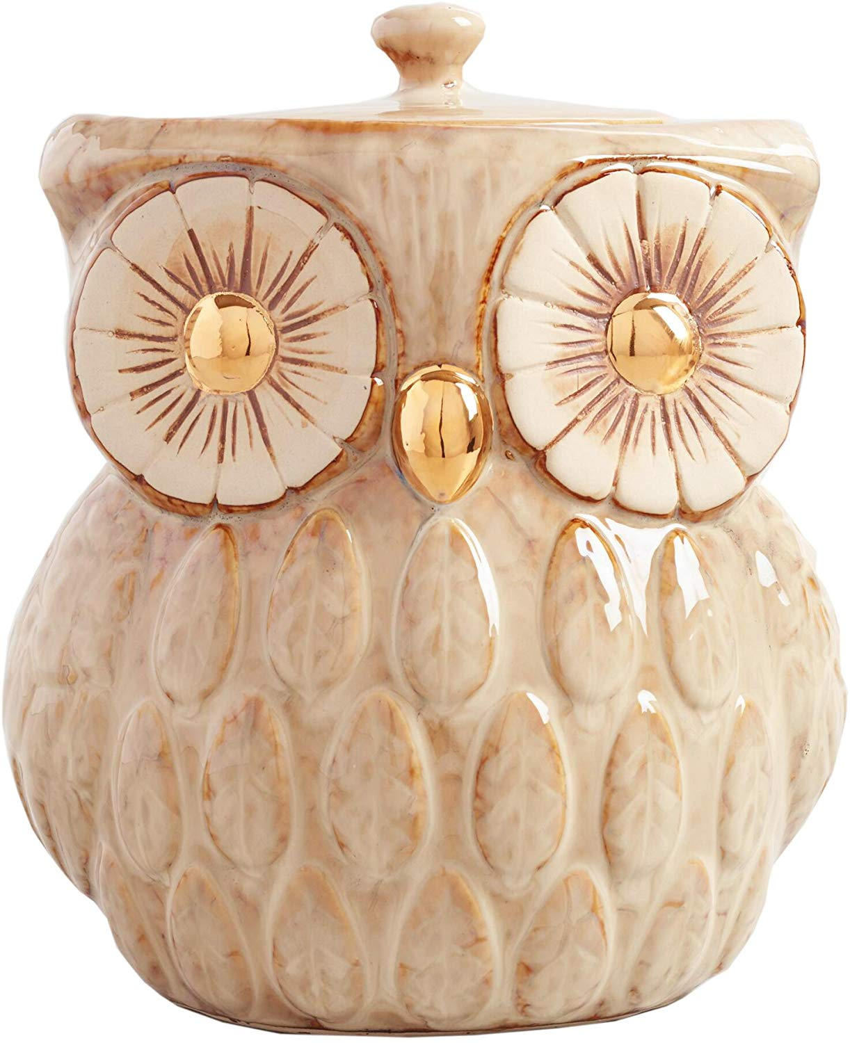 cookie jar shaped like an owl