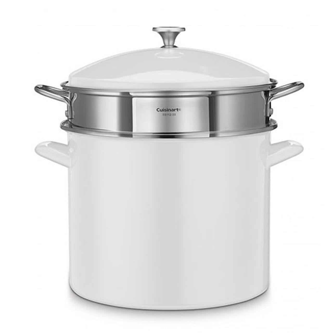 stockpot with strainer and lid