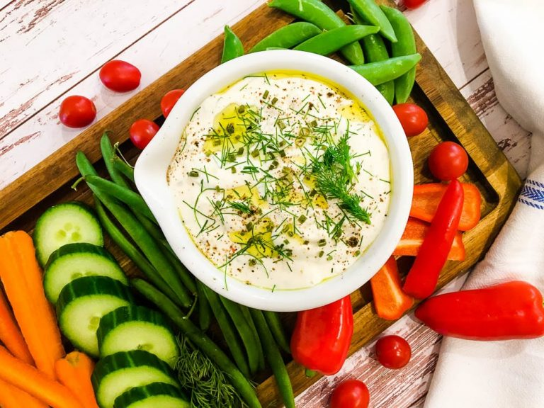 tasty roasted garlic dip not entirely average keto