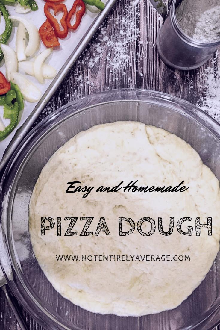 A pizza dough