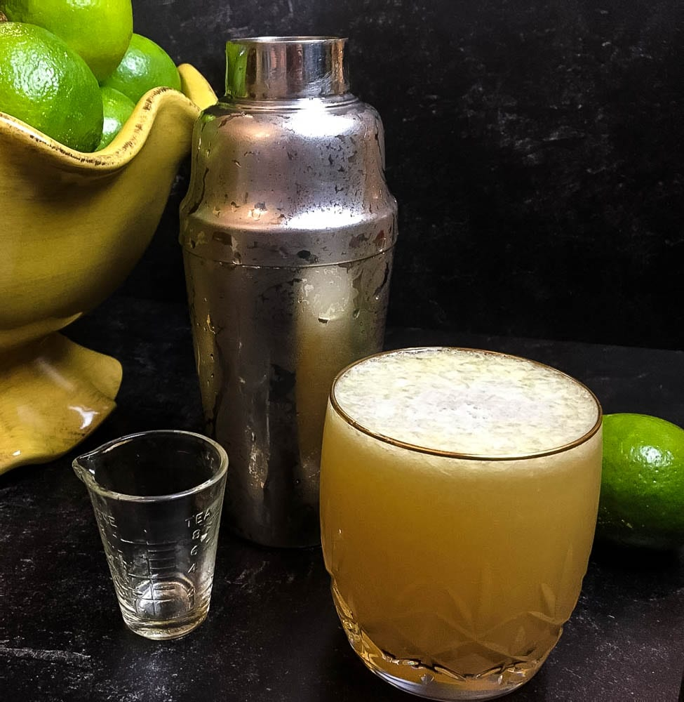 A Margarita and Tequila