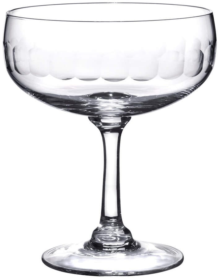 A glass of wine, with Manhattan and Cocktail glass