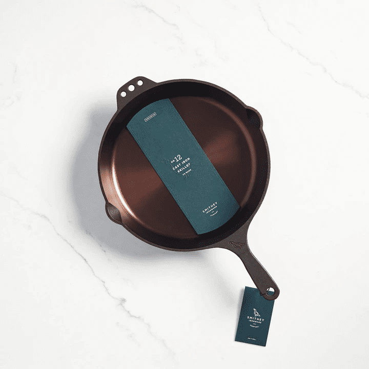 American made cast iron skillet