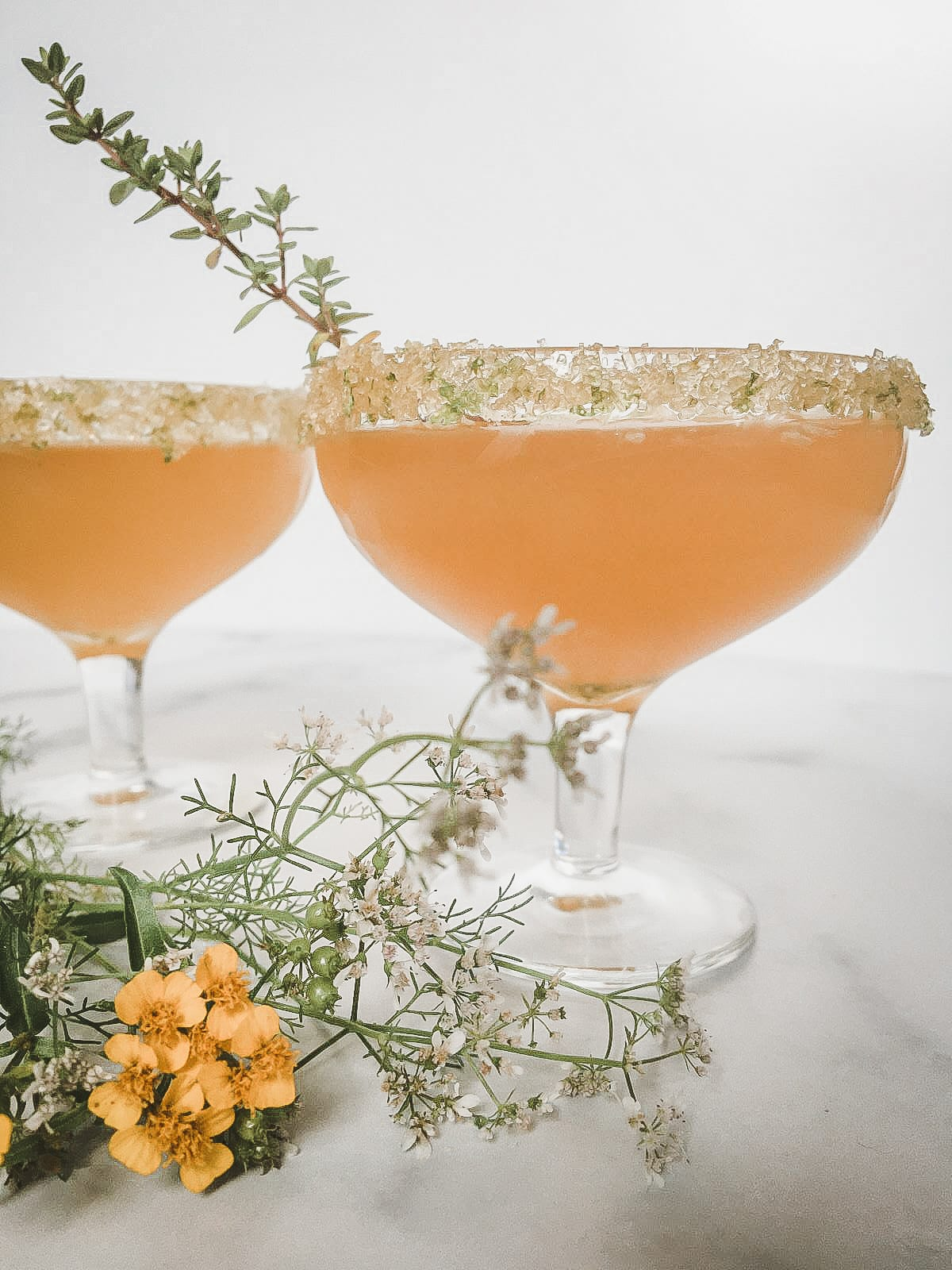 Apricot and Fizz