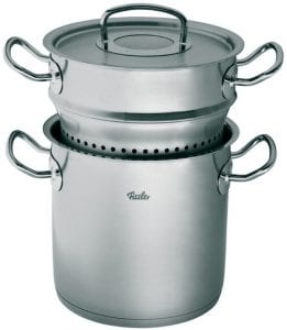 pasta cooker with insert
