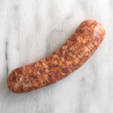 fresh Italian sausage link without fillers