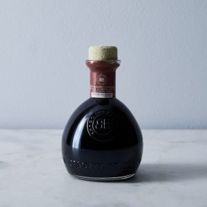 bottle Modena Balsamic vinegar