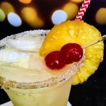 A margarita with Pineapple