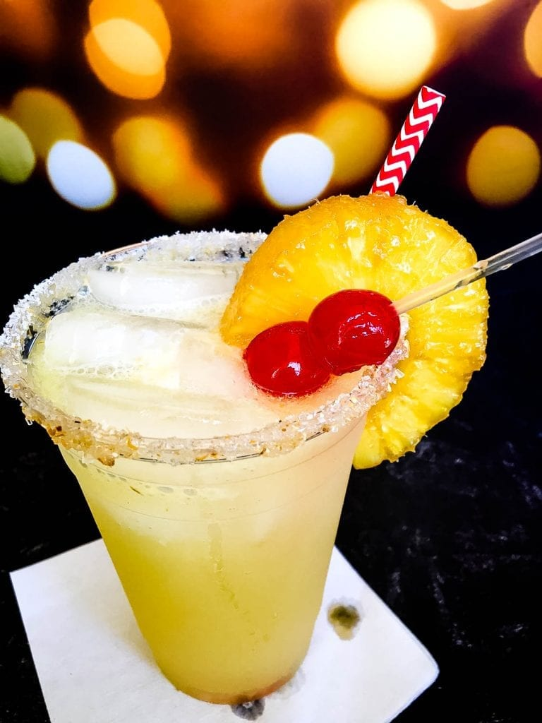 A Pineapple and Margarita