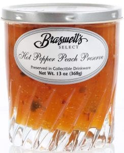 hot pepper and peach jelly
