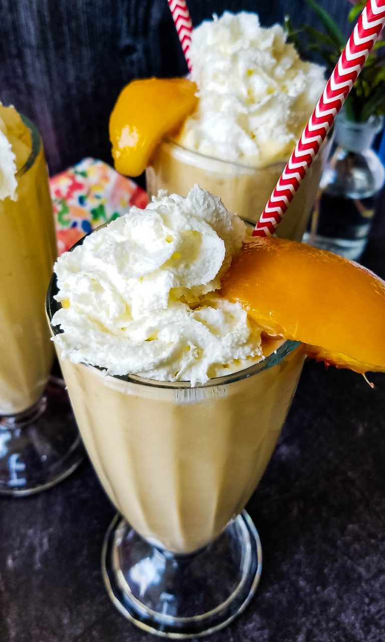 peach milkshake that is copycat Chick-Fil-A