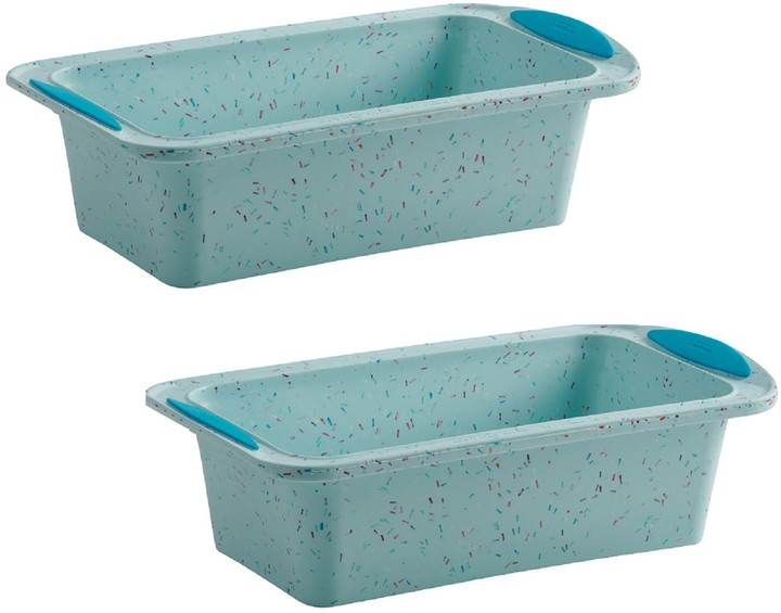 2 silicone bread pans