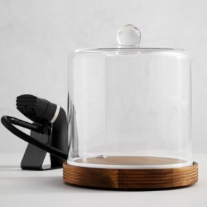 cocktail smoking cloche with smoker