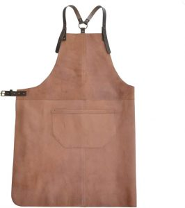 leather apron for grilling