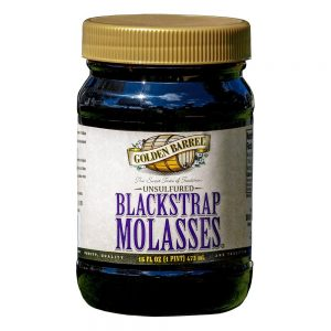 jar of blackstrap molasses