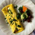Boursin Omelet