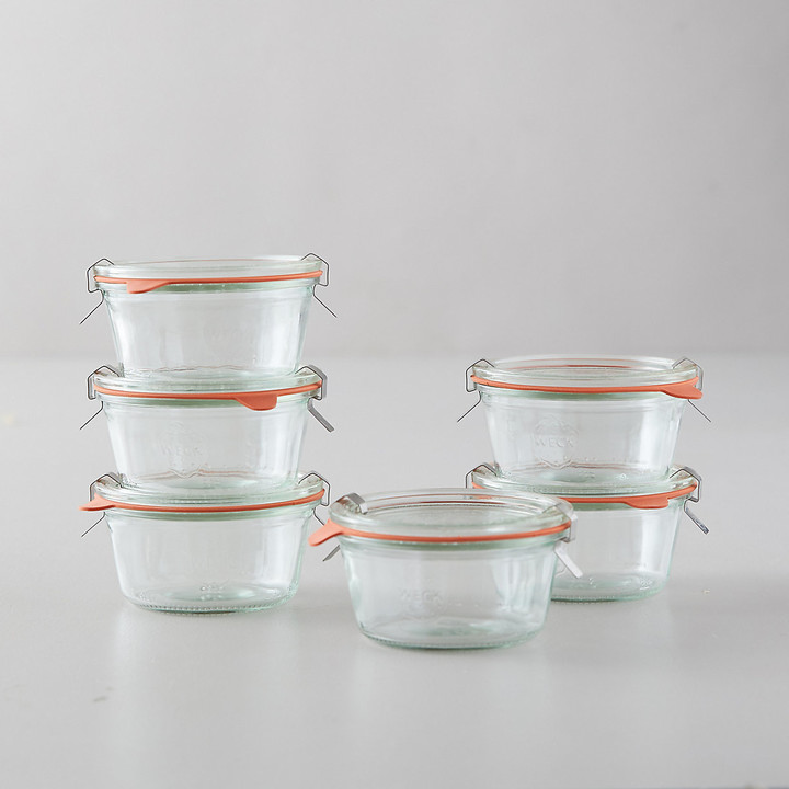 oven safe glass jars for custard
