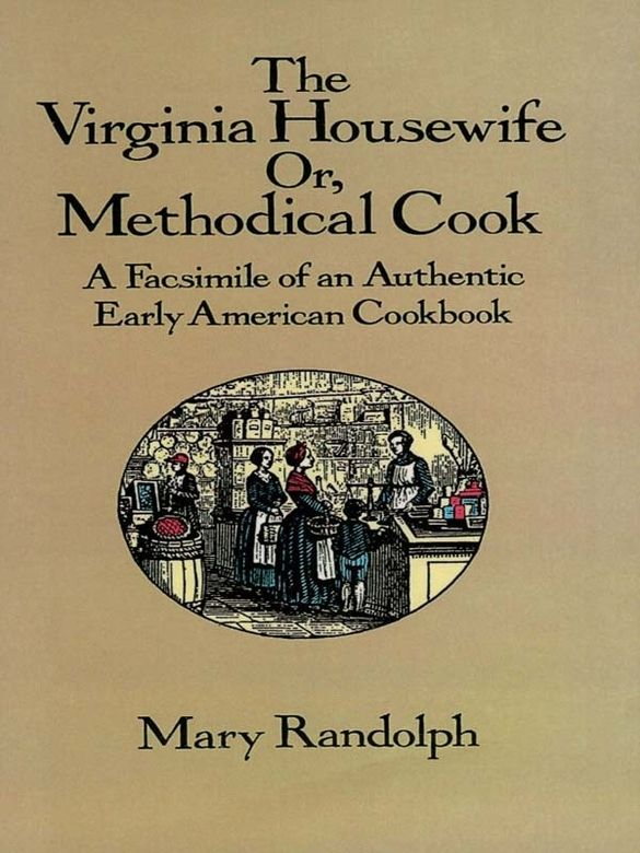 cover of cookbook The Virginia Housewife
