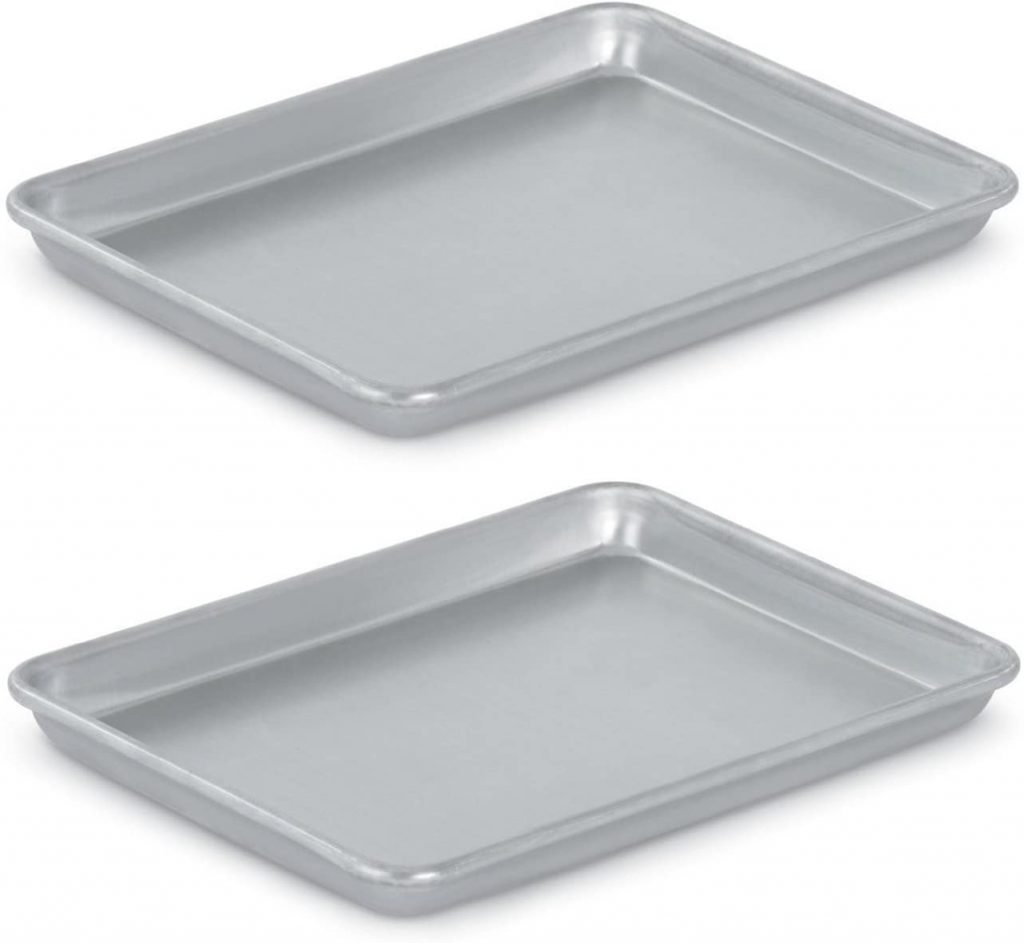 two jelly roll pans