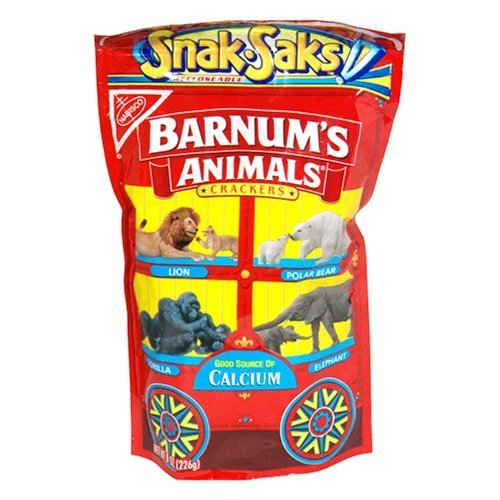 bag of animal crackers