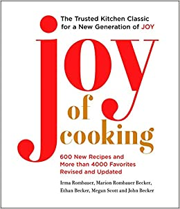 famous Joy Of Cooking cookbook