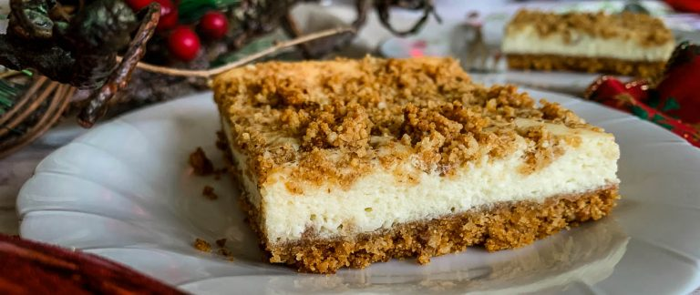 church street cheesecake squares
