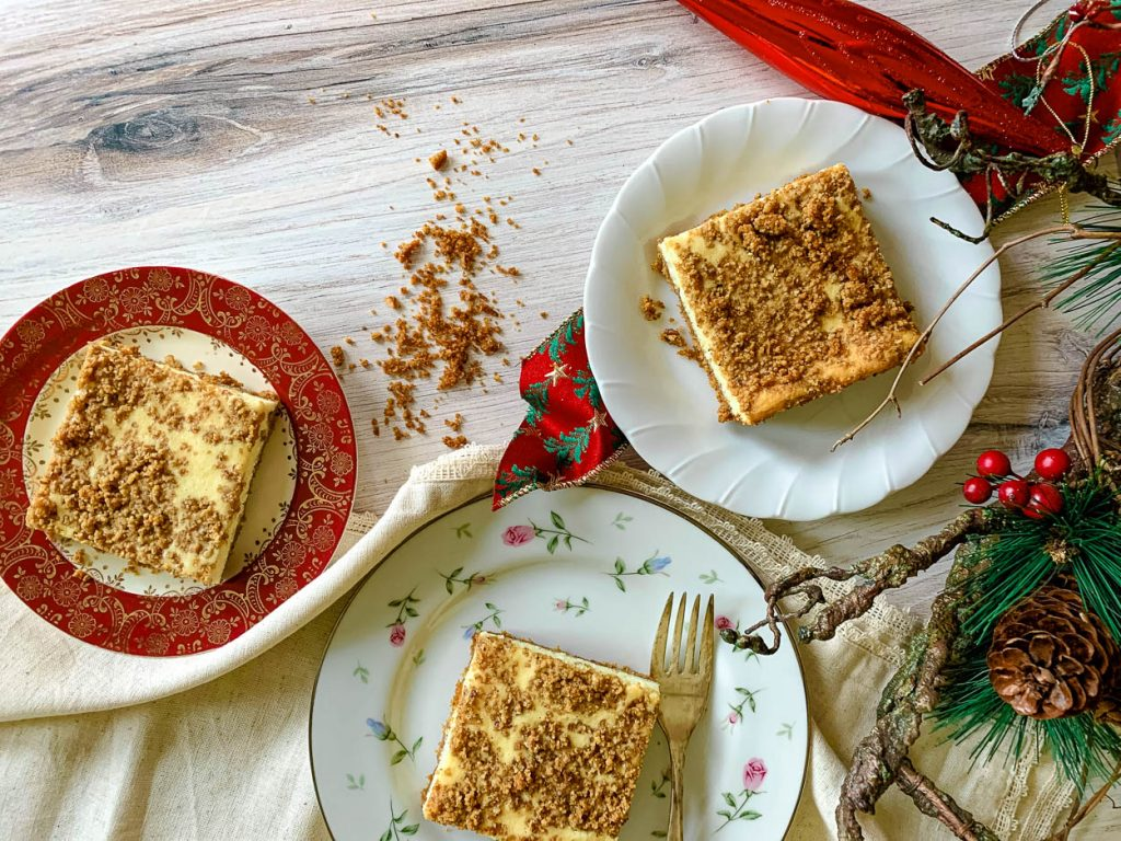 above photo of Church Street Cheesecake Squares