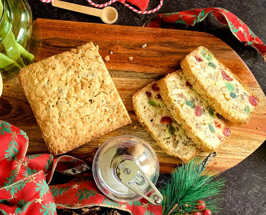 Christmas Loaf nutmeat and fruit bread