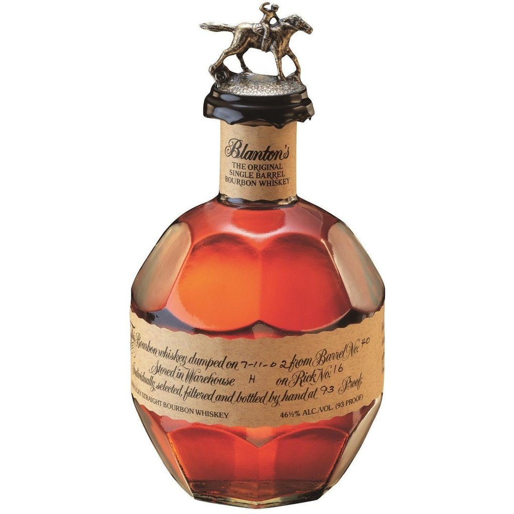 bottle of bourbon