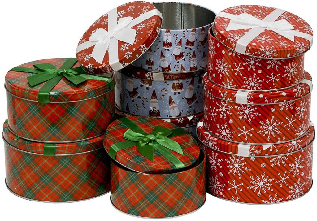Cookie and Gift tins