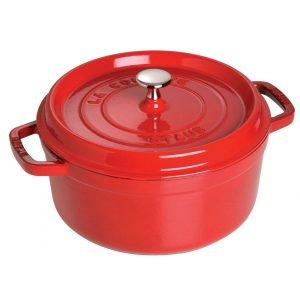 red pot