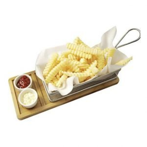 tray with french fries