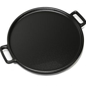 cast iron pizza cooker