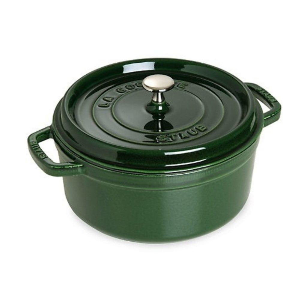 green Dutch oven