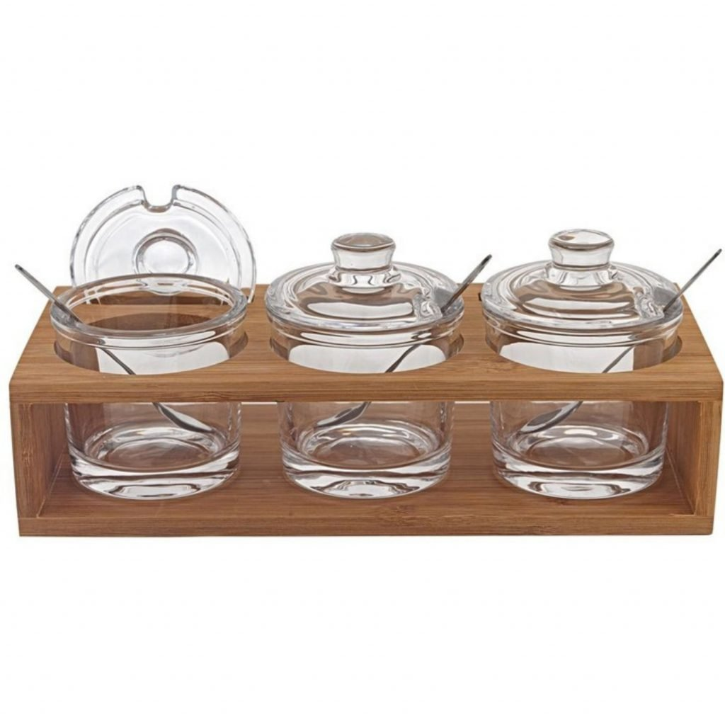jelly or jam jars