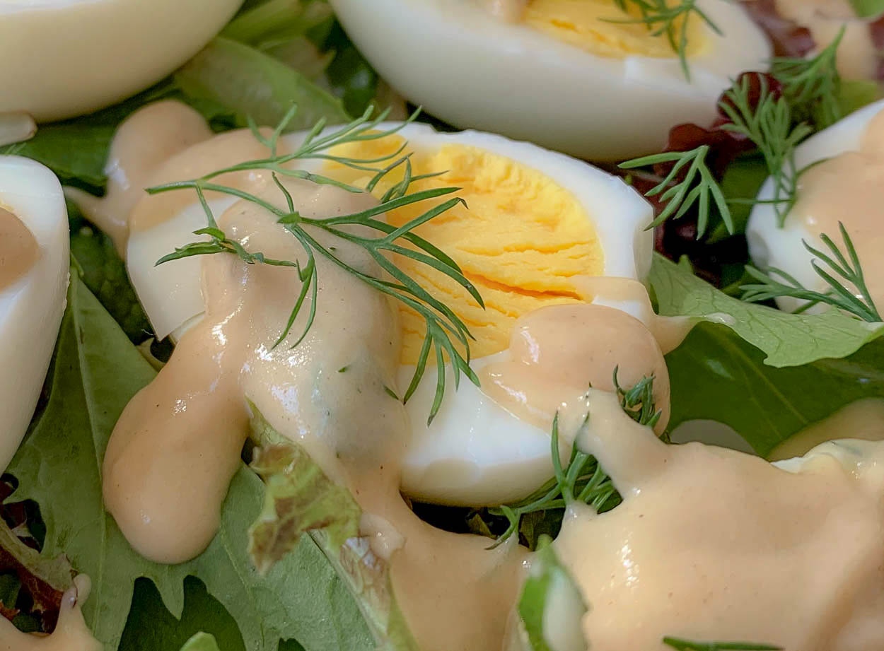 primary image for eggs in mustard sauce