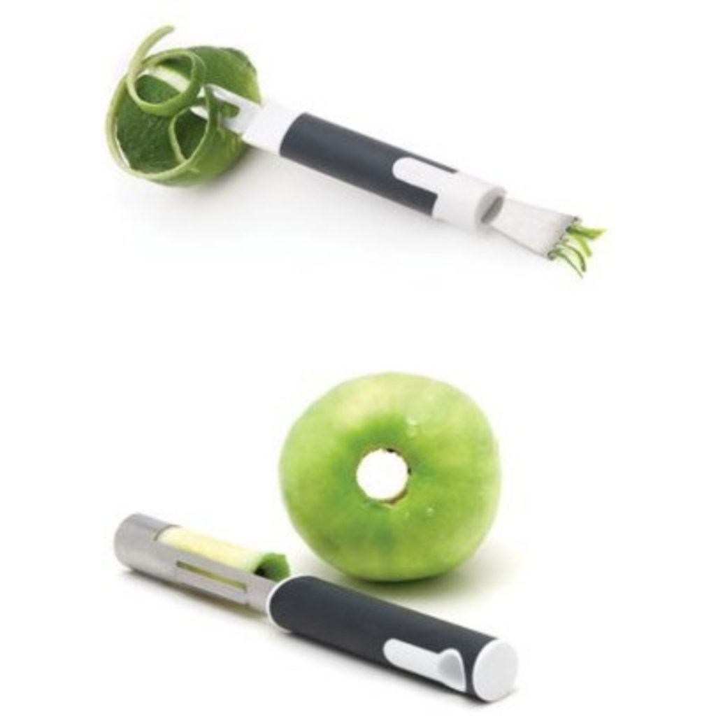 peeler and corer for fruit and vegetables