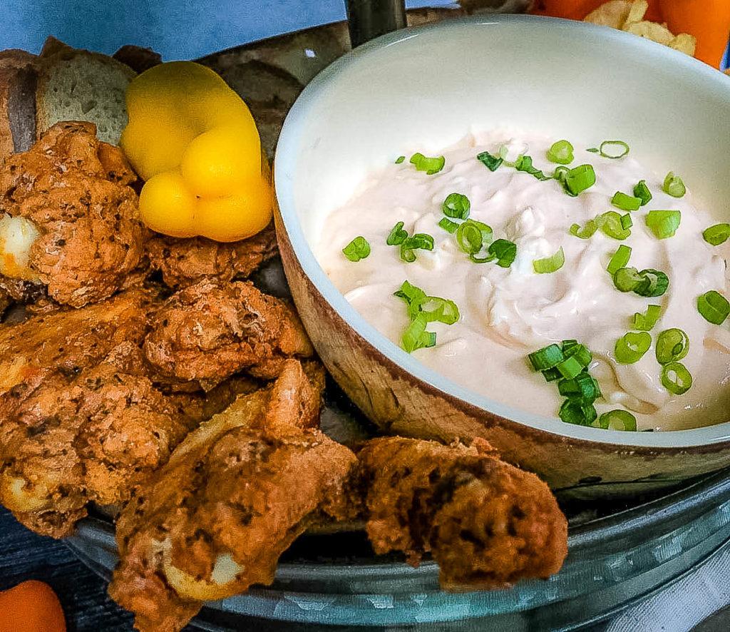 The Zany Good Finger Licking Nashville HOT Chicken Dip You Must Taste