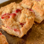 primary image for Extra Tender And Sweet Strawberry Cream Scones With Ricotta