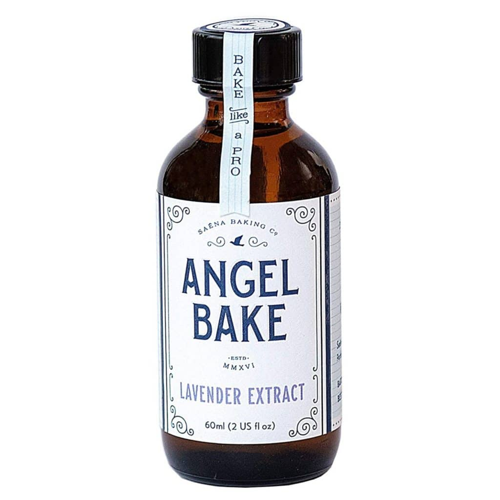 lavender extract in a bottle