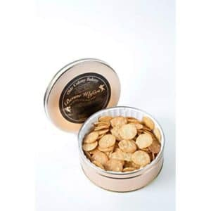 tin of benne wafers